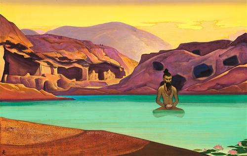 lotus-by-nicholas-roerich-art1